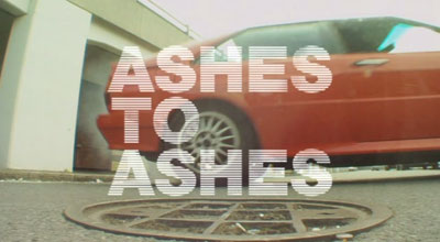 """Ashes to Ashes"" title card"