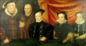 Young Elizabeth I Portrait