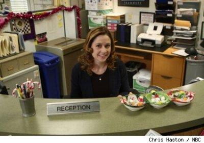 Jenna Fischer Office Christmas