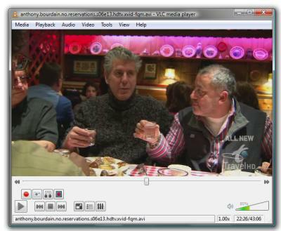 VLC clip