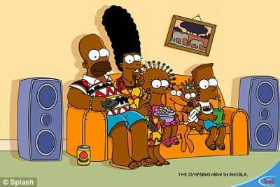 Angola Simpsons
