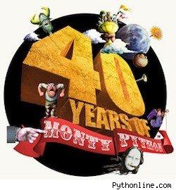 Monty Python 40th logo