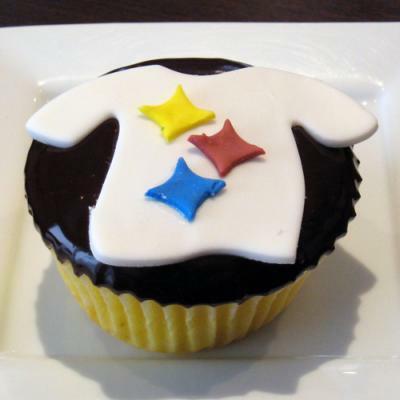 Steelers Cupcake