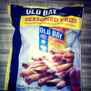 These weren't that great. Regular fries + Old Bay is better (and cheaper).