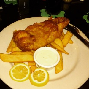 St. Pat's fish & chips!