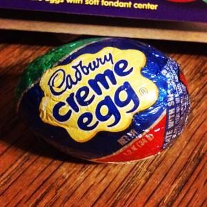 The saddest part of Spring: the last Cadbury Creme Egg.