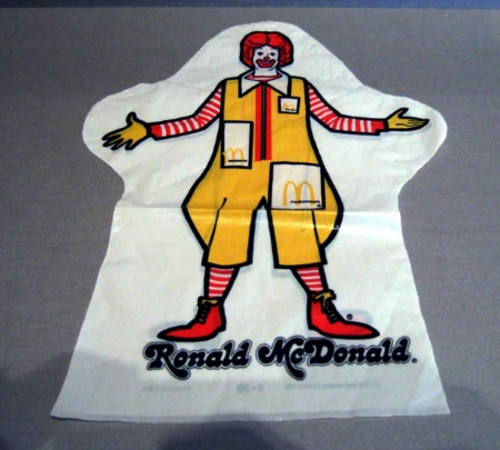 McDonald's puppet