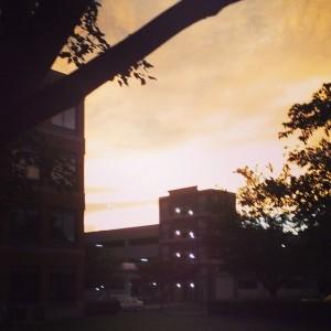 More weird sky.