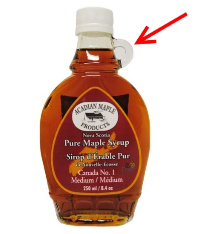 Maple Syrup Skeuomorph